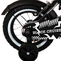 black cruiser 12 inch jongensfiets