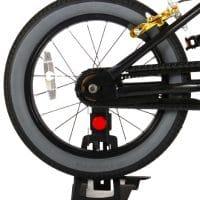 crossfiets 16 inch zwart handremmen