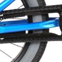 crossfiets 16 inch blauw handremmen